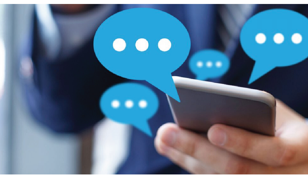 Is SMS communication a major trend in 2021?