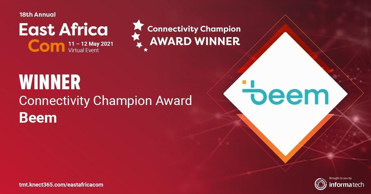beem east africa com connectivity champion